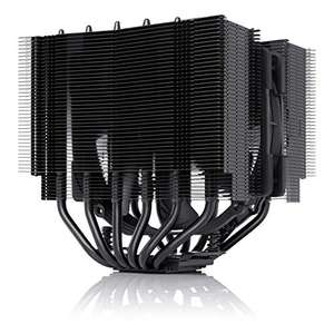 Noctua NH-D15S chromax.black, Premium Dual-Tower CPU Cooler with NF-A15 PWM 140mm Fan (Black) - £79.99 @ sold by Noctua and FBA