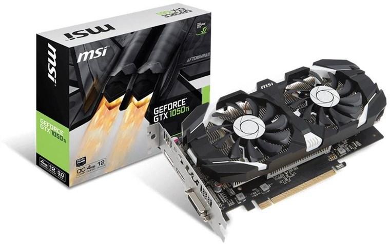 MSI GeForce GTX 1050 Ti 4GB OC Graphics Card £199.99 at Box