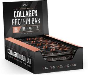 Collagen Protein Bars - High Protein & Low Carb - 19g Protein £9.99 Prime Sold by Revive Naturals and Fulfilled by Amazon (+£4.49 non Prime)