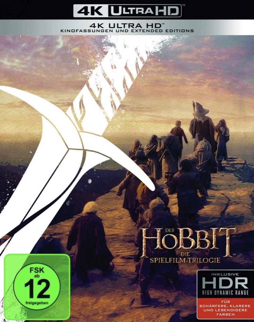 The Hobbit: Motion Picture Trilogy 4K (BOX) [Region Free] (English audio. English subtitles) £45.65 at Amazon