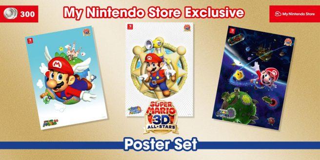 Super Mario Poster Set, Nintendo Calendar, Animal Crossing Bag, Pikmin Coasters etc all for £1.99 ( Reward Points Req) @ My Nintendo Rewards