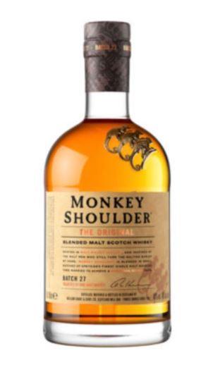 Monkey Shoulder Whiskey £18 a Asda Worcestershire