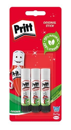 Pritt Glue Stick - 3x22g - £2.75 (+£4.49 Non-Prime) @ Amazon