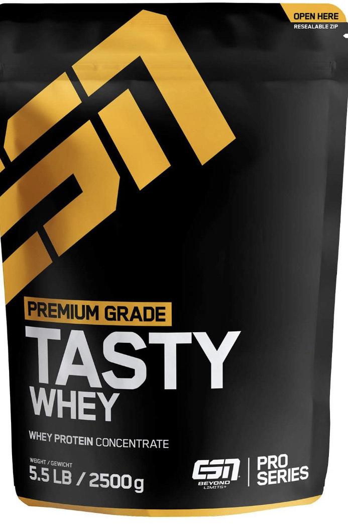 ESN Tasty Whey Protein Powder, 2500g Big Pack - Elite Sports Nutrients - Premium Supplements - £17.84 (+£4.49 Non-Prime) @ Amazon