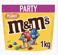 M&M 1kg Peanut Party Pouch - £2.81 instore @ McColls (Llanerchymedd)