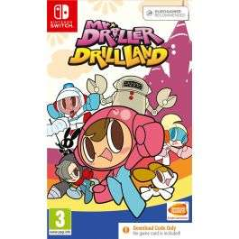 Mr. Driller DrillLand [Nintendo Switch] - code in a box - £6.95 delivered @ The Game Collection