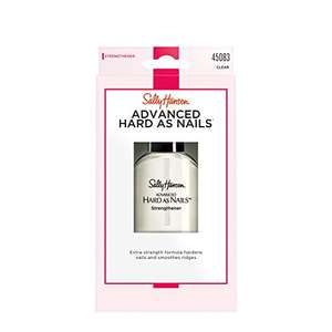 Sally Hansen Hard As Nails with Nylon Nail Treatment Formula £2.75 (+£4.49 nonPrime) or £2.61 s&s Amazon