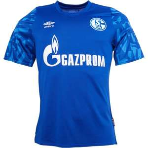 Umbro FC Schalke 04 short sleeve home jersey football shirt £11.99 + £4.99 standard delivery @ Mandm Direct