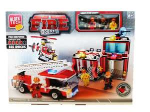 Block tech fire rescue toy playset £5 at tesco broughton