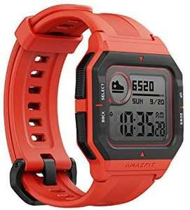 Amazfit Neo Smart Watch - Red Fitness Tracker - £19 Free Collection / £3.95 Delivery @ Argos