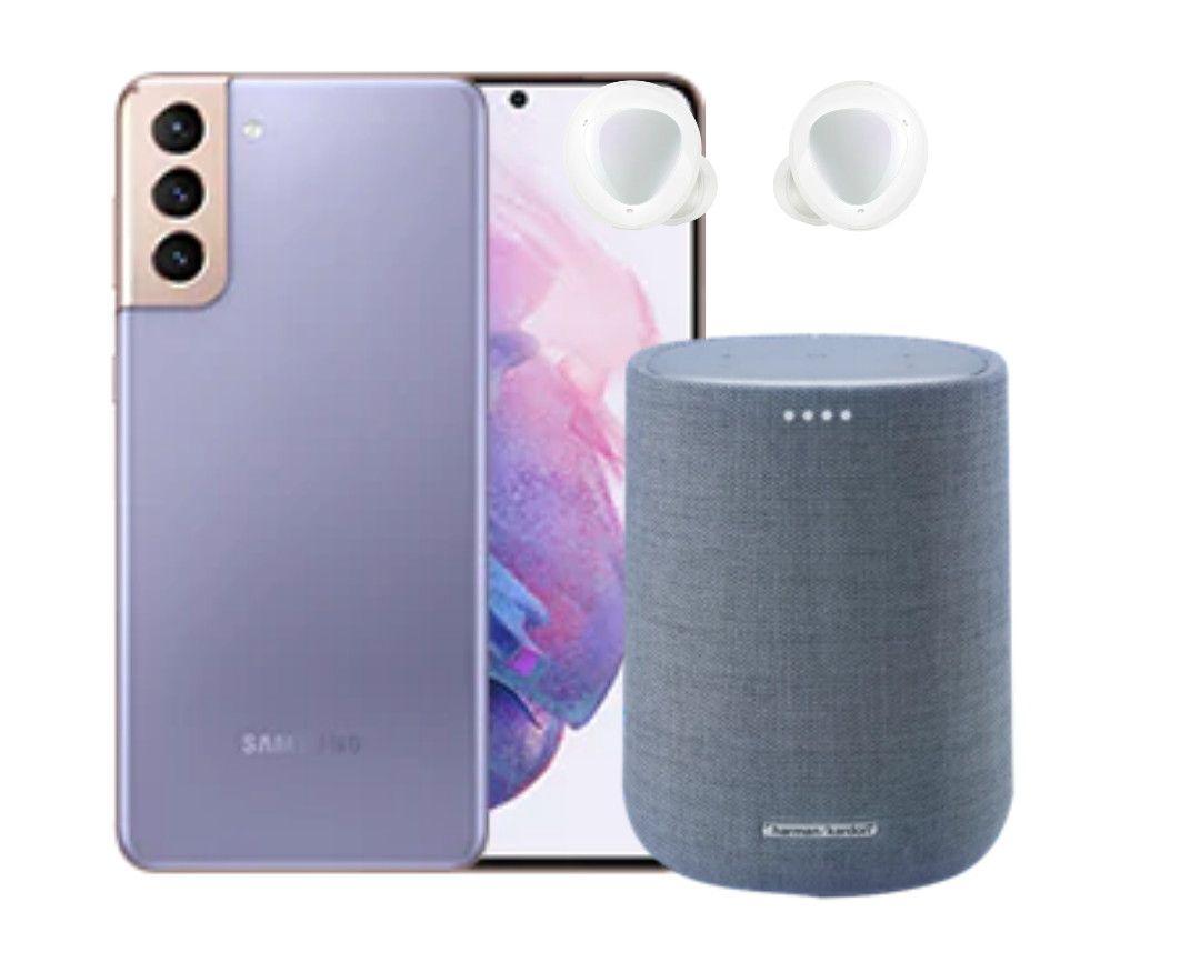 Samsung Galaxy S21 128GB + Free Harman Kardon Speaker + Buds+ + Free £150 Code - £786.88 (£586.88 With Trade) @ Samsung