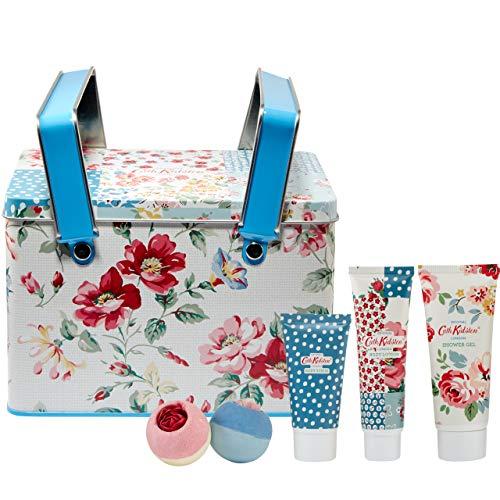 Cath Kidston Beauty Cottage Patchwork Picnic Tin Gift Set £14.15 prime / £18.64 nonPrime at Amazon