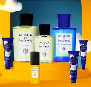 Acqua Di Parma: Up to 60% off sale - from £7.50 (£2.95 delivery / Free over £20 / 10% off first order with code) @ AllBeauty