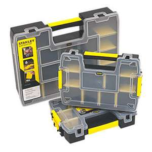 Stanley Sort Master Organiser Set 3 Pieces, £14.99 (Free click and collect / £5 Delivery) at Screwfix