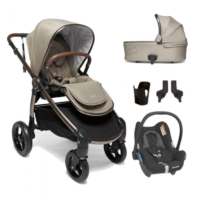 Mamas & Papas Ocarro Pushchair 5 Piece Maxi Cosi Cabriofix Bundle - Iconic £599 @ BabyPlanet
