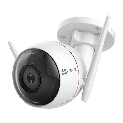 EZVIZ 720p Security Camera WiFi CCTV with light & siren, 30m night vision, two-way audio for £37.99 delivered @ Ezviz Direct / Amazon