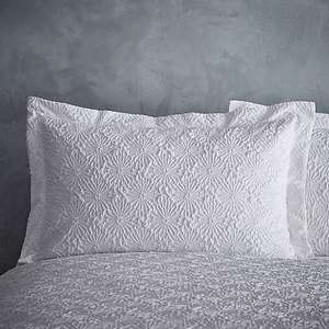 Astra Textured White Oxford Pillowcase - £6.40 @ Dunelm order online for Free Click & Collect or +£2.95 delivery