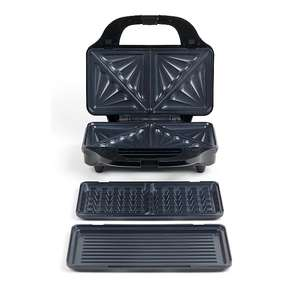 Salter Deep fill 3-in-1 sandwich maker snack with interchangeable grill plates £35.96 delivered @ Asda/George