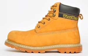 WorkWear Pro Heavy Duty Men's Leather Safety Boots for £23.18 delivered using code @ Express Trainers