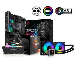 PC SPECIALIST AMD Ryzen 9 Processor ASUS ROG STRIX Motherboard - Open Box £1181.25 (UK Mainland) @ currys_clearance / ebay