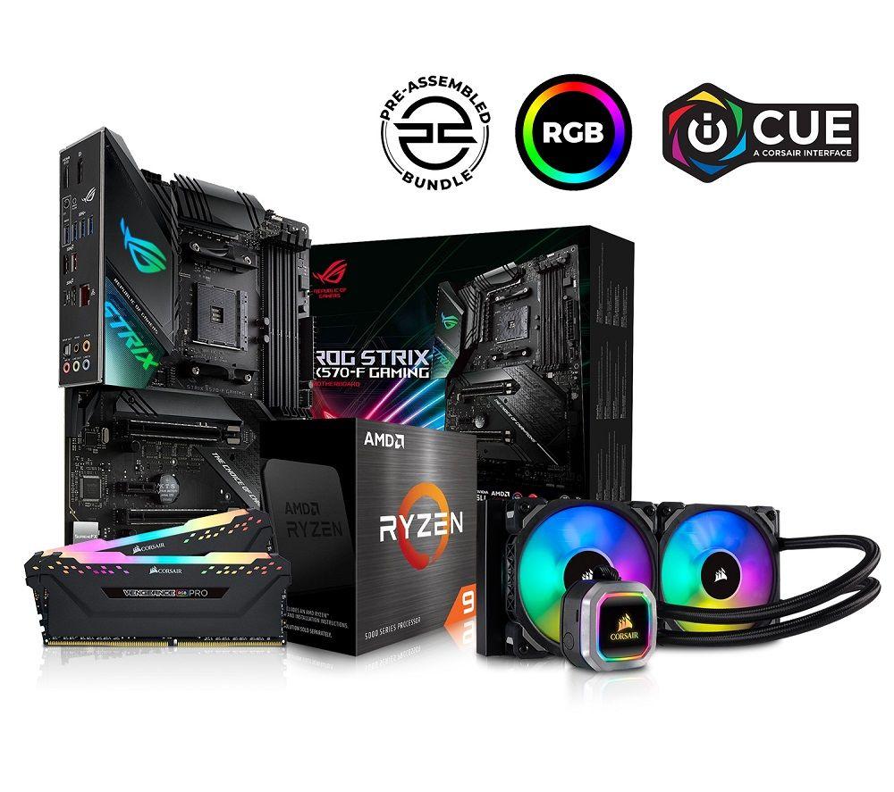 PC SPECIALIST AMD Ryzen 9 Processor ASUS ROG STRIX Motherboard - Open Box £1181.25 (UK Mainland) @ currys_clearance / ebay