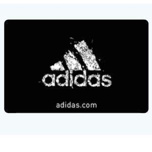 15% off Adidas Gift Cards - £25 for £21.50 - can stack with sale / discount codes @ Morrisons (instore)
