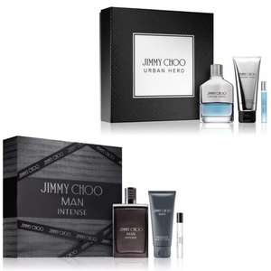 Jimmy Choo Man Intense Gift Set £31.16 or Urban Hero for £32.96 delivered (with code) @ notino