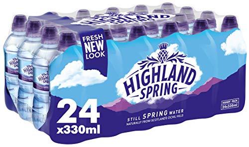 Highland Spring Still Spring Water, 24x330ml £3.98 (+£4.49 non-prime) @ Amazon