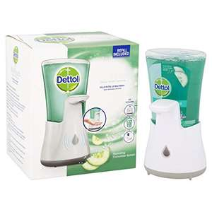 Dettol No Touch Hand Wash System 250ml £4.90 Prime +£4.49 Non-Prime at Amazon