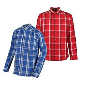 Regatta Mens Mindano III Long Sleeve Casual Summer Checked Shirt £6.99 or BOTH Colours £11.99 Delivered @ portstewart-clothing-company/eBay