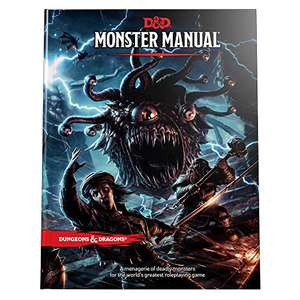 Dungeons and Dragons Monster Manual - hardcover Book £24.40 @ Amazon