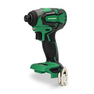 Hikoki WH18DBFL 18V brushless impact driver skin only £57.50 at toolden