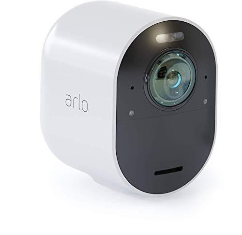 Arlo Ultra Smart Home Security Camera   Alarm   Rechargeable   Colour Night Vision   Indoor/Outdoor   4K UHD   2-Way Audio £164.97 @ Amazon