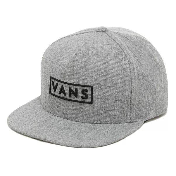 Vans Easy Box Snapback Hat in grey for £16.10 delivered using code @ Vans