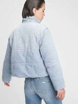 Denim Puffer Jacket £41.99 @ Gap