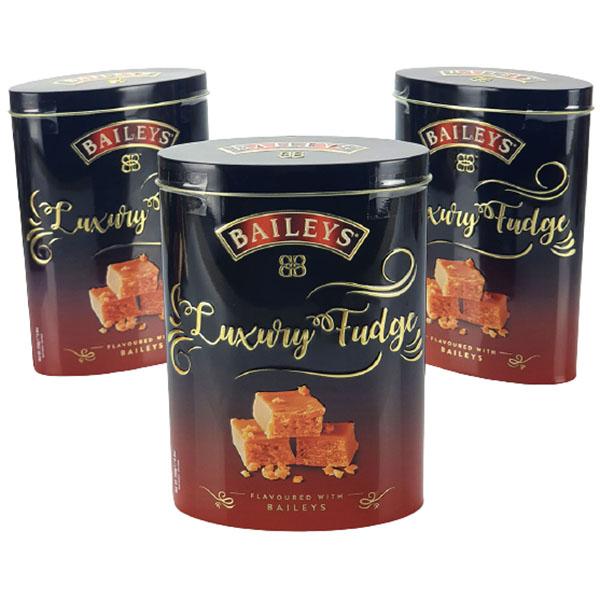 Bailey's Luxury Fudge 250g Gift Tin £1 (Best Before 06/07/22) at Yankee Bundles