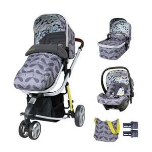 Cosatto Giggle 3 Travel System & Accessories Bundle-Seedling for £339 with code @ Kiddies Kingdom