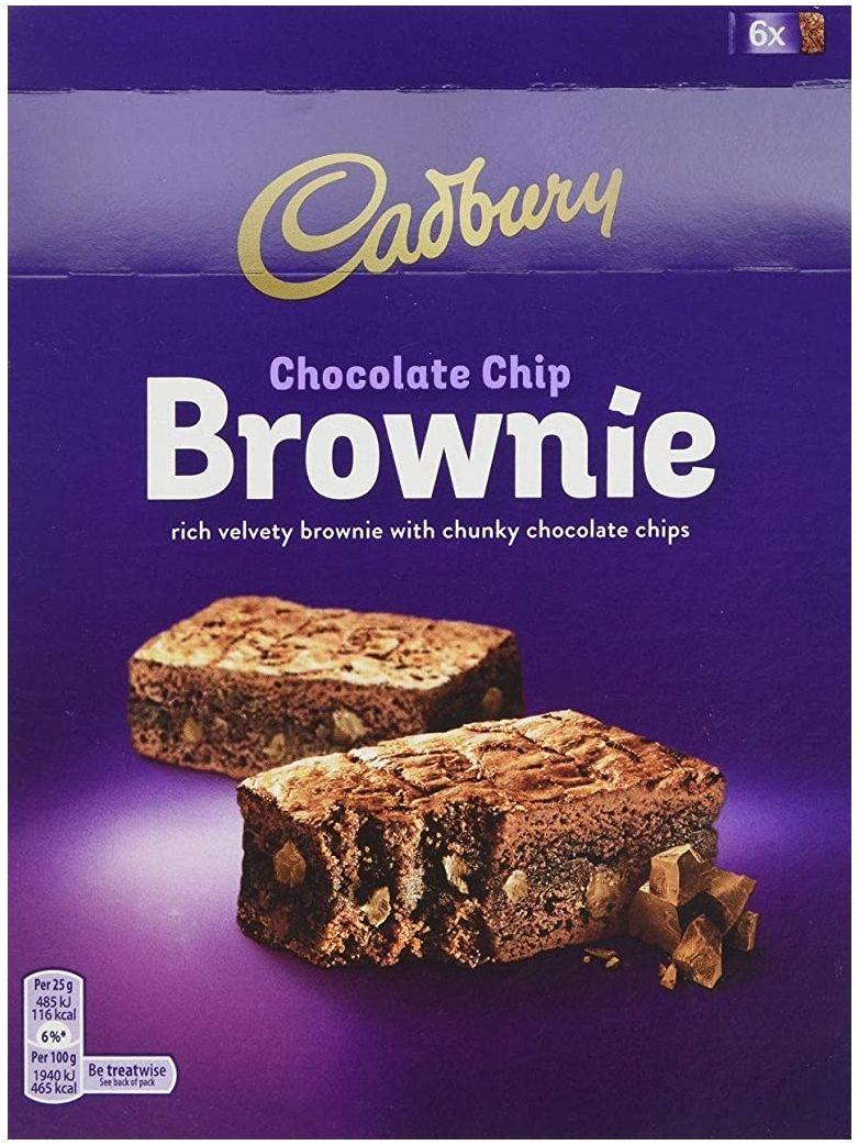 Cadbury Brownie Original Chocolate, 150g - £1.41 (+£4.49 Non-Prime) @ Amazon