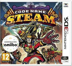 Code Name: S.T.E.A.M. Nintendo 3DS Game, £1.25 (UK Mainland) delivered at Argos/ebay