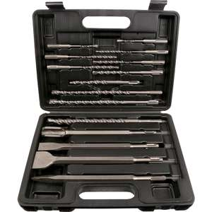 Abracs SDS Plus Drill & Chisel Set (15 Piece) - £16.98 (Free collection / £5 Delivery) @ Toolstation