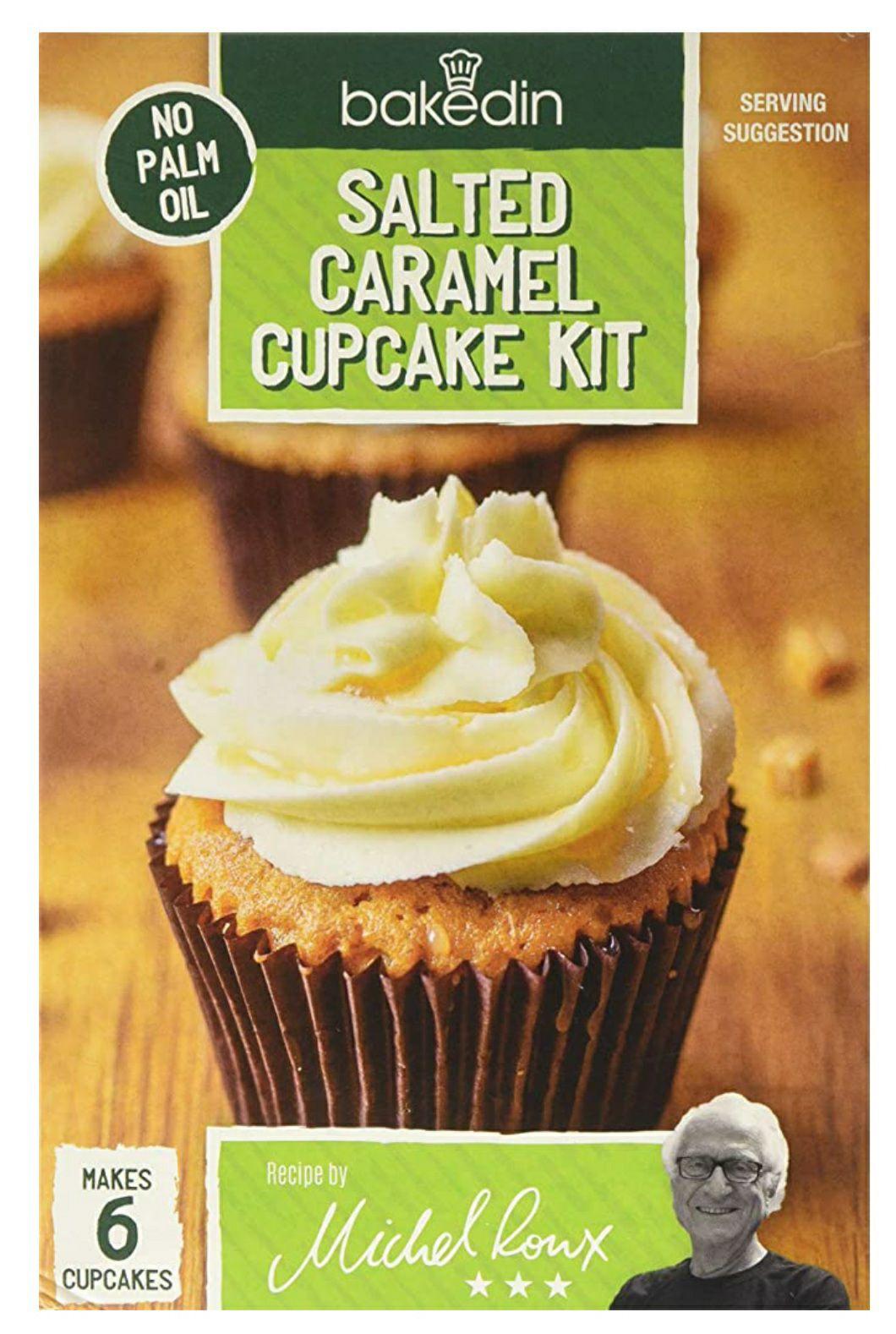 Bakedin Salted Caramel Cupcake Kit, 375 Gram £1.87 + £4.49 NP @ Amazon