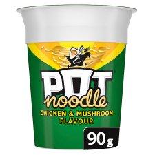 Pot Noodle 90g - All Flavours - 50p each (Clubcard Price) @ Tesco