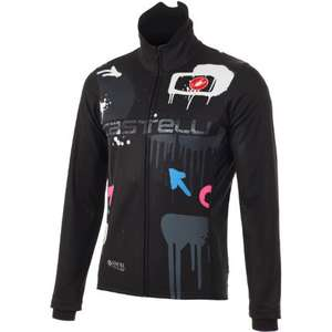 Castelli Graffiti Windstopper Cycling Jacket limited edition - Dark print £110 delivered @ Wiggle