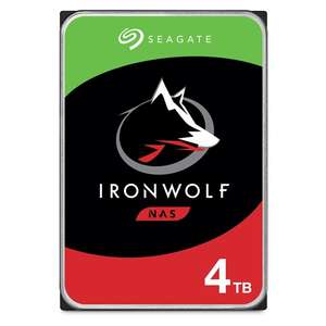 "Seagate 4TB IronWolf NAS 3.5"" SATA III 6GBs Hard Drive, £88.49 delivered at Box"