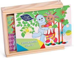 In the night Garden wooden memory game, £3.89 with Prime / £8.37 without Prime @ Amazon