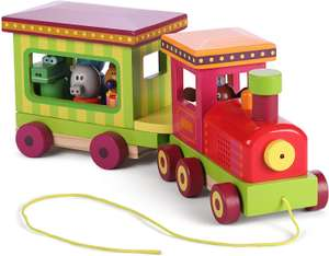 Hey duggee lights and sounds toy train only £11.41 (+£4.49 non prime) @ Amazon