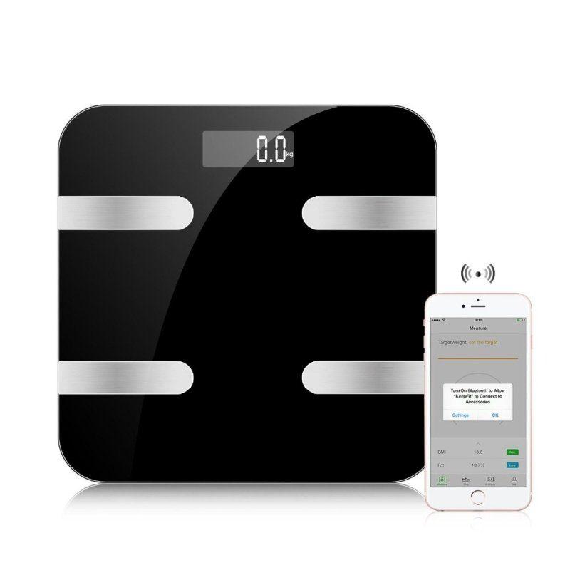 Vida Smart Fitness Bathroom Scales EBSMRTSCL £14.47 delivered at Ebuyer