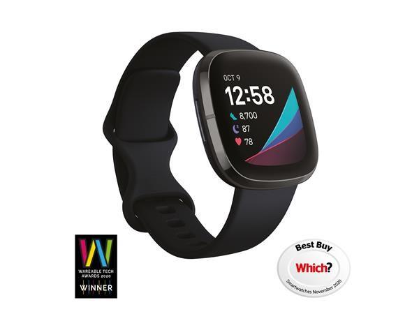 Fitbit Sense - Carbon/Graphite Smartwatch - £229 Delivered @ BT Shop