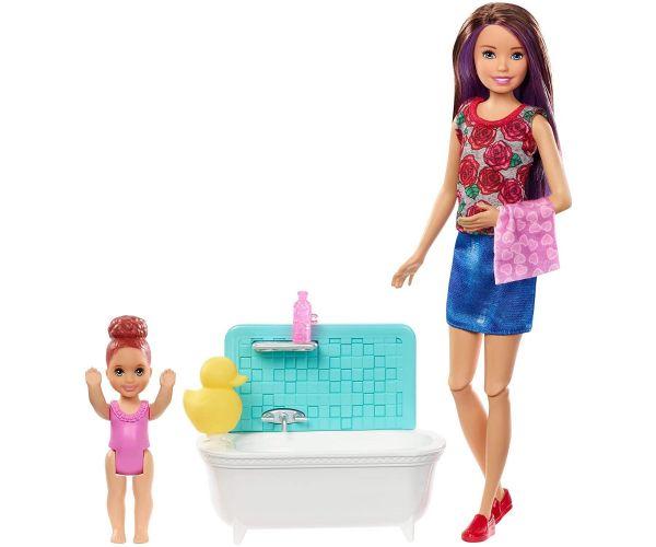 Barbie Skipper Babysitter Bath Time Set Now £12.99 Free delivery (Mainland UK) @ Bargain Max