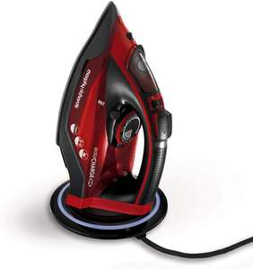 Morphy Richards 303250 Cordless Steam Iron easyCHARGE 360 Cord-Free, 2400 W, Red/Black - £32 @ Amazon